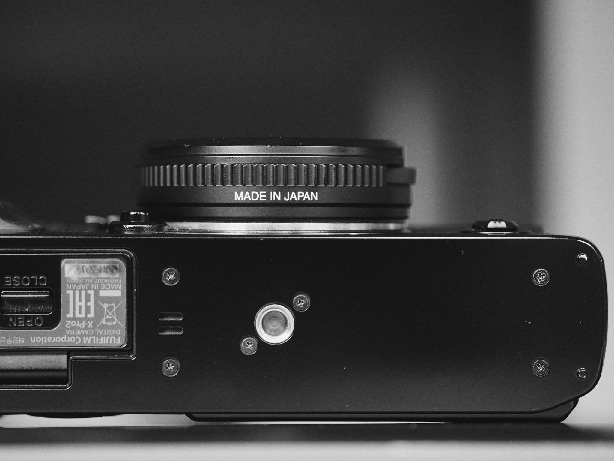 Best Fuji Lens for Street Photography - 24mm F8 Body Cap